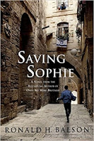 Saving Sophie by Ronald H. Balson (Book cover)