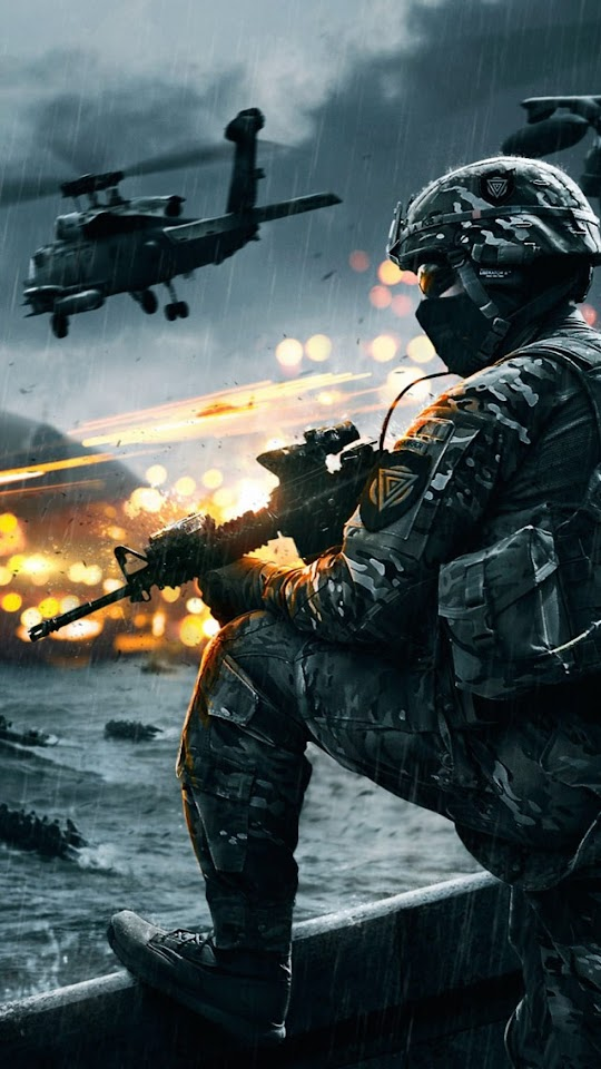 Battlefield 4 Siege of Shanghai   Galaxy Note HD Wallpaper