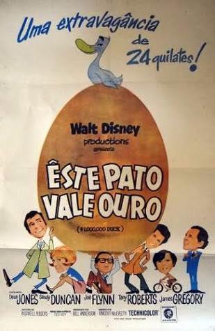Papo de Cinema: A PATA DE UM MILHÃO DE DÓLARES (The Million Dollar Duck) - 1971