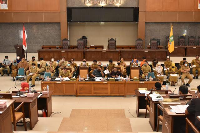 Sampaikan Hasil Pembahasan 9 Ranperda, DPRD Sinjai Gelar Paripurna