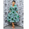 Latest Ankara Wrap Dress 2020 for Ladies: New Ankara Style Inspiration.