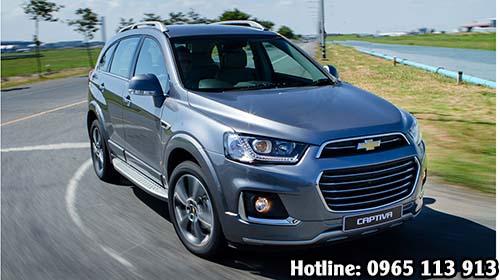 Giá xe Chevrolet Captiva Hai Phòng