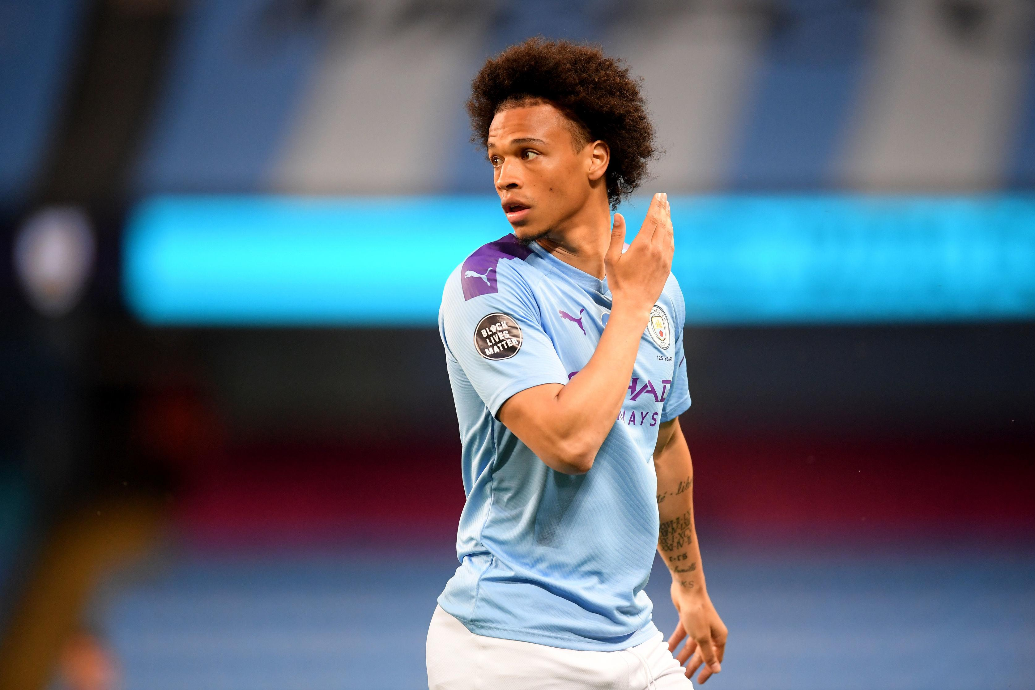 German winger Leroy Sane