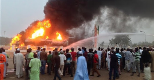 Xenophobia: Nigerians Retaliates, Sends Strong Warning! To 5 South African Companies In Abuja, Destroys 1 Already (WATCH)