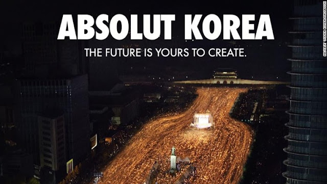 "NEWS | ""South Koreans : Do Not Commercialize Our Democracy"", Questions Vodka Advertisment"