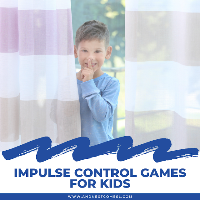 Want to teach your kids self control? Try these impulse control games!