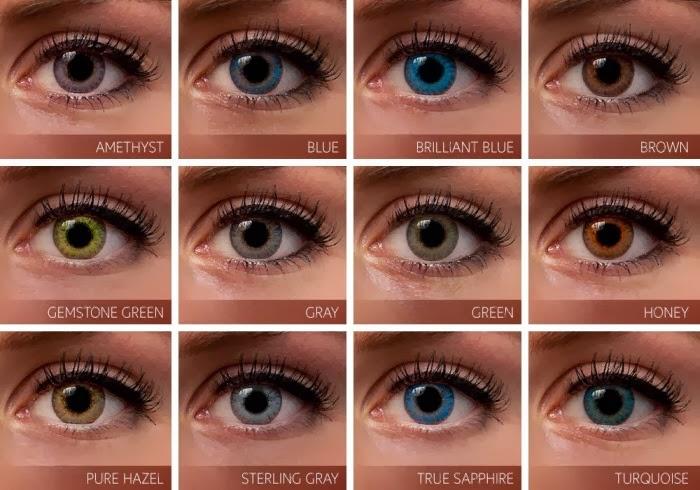 Hair Color Chart Ideas For Eye Color