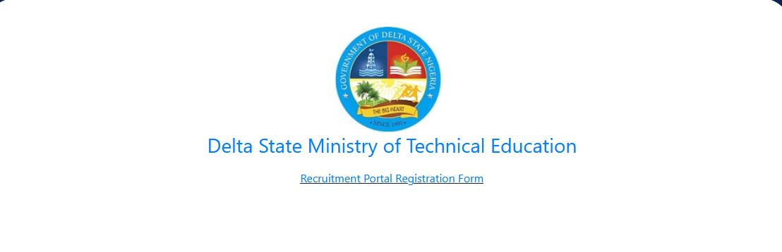 Delta State Teacher's Recruitment Form 2020/2021 [Technical Colleges]