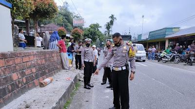 Bus Gumarang Tabrak Siswa SD di Pitalah, 3 Anak Tewas di tempat