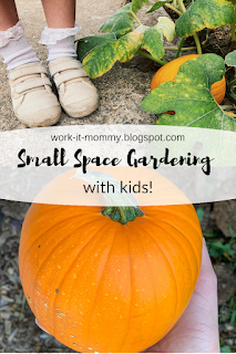 Small Space Gardening with Kids on Work it Mommy blog