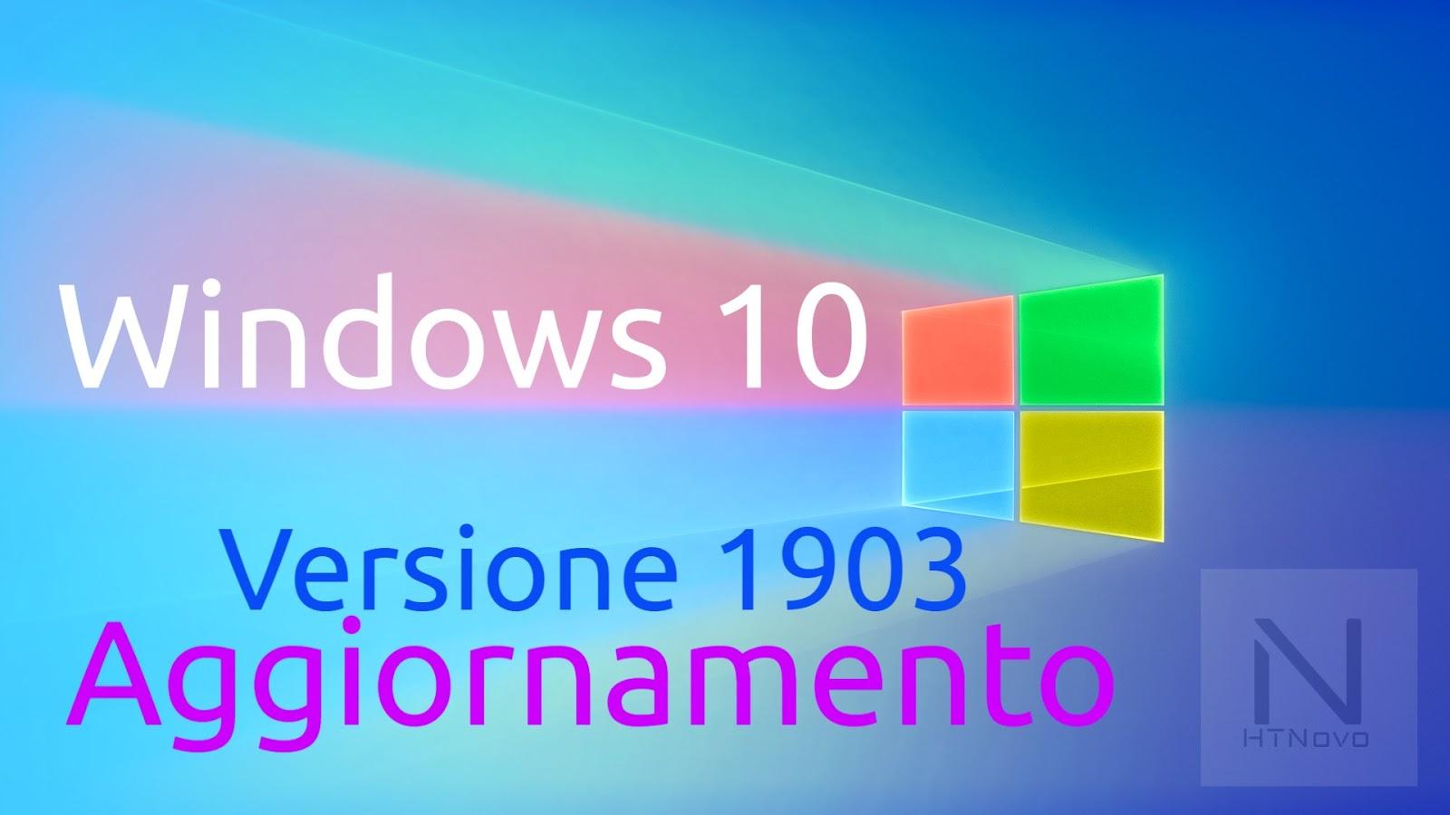 Aggiornamento-windows-10-1903