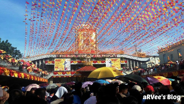 Novena Mass during Sinulog in Cebu, Philippines