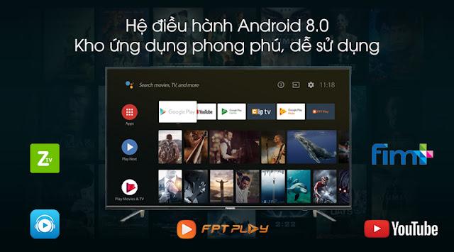 Android Tivi 4K PANASONIC 49 Inch TH-49FX650V dùng có tốt không?