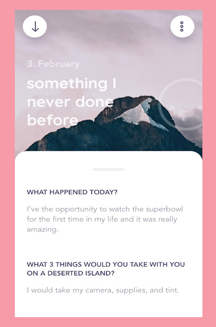 A way to save memories of daily stories and precious moments of our life