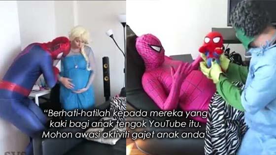 Ini Sebab Kenapa Anda Harus Awasi Anak Anda Tengok Youtube