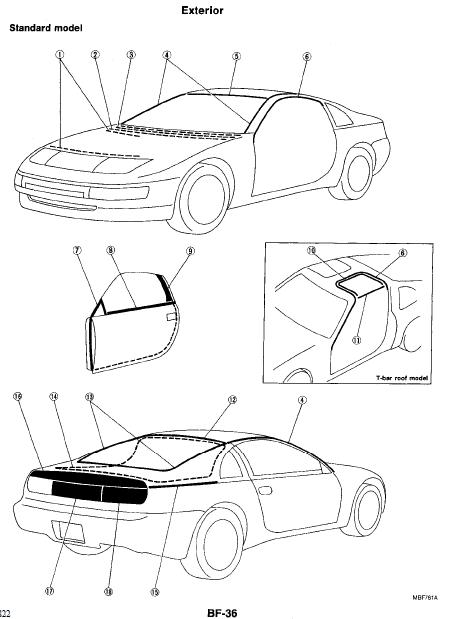 repair-manuals: Nissan 300ZX Z32 1994 Repair Manual