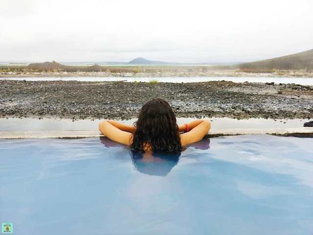 Baños termales en Mývatn, Islandia