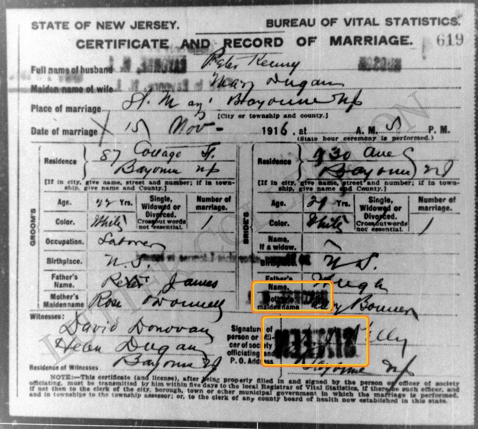 Family History Research By Jody Lutter: License To Marry