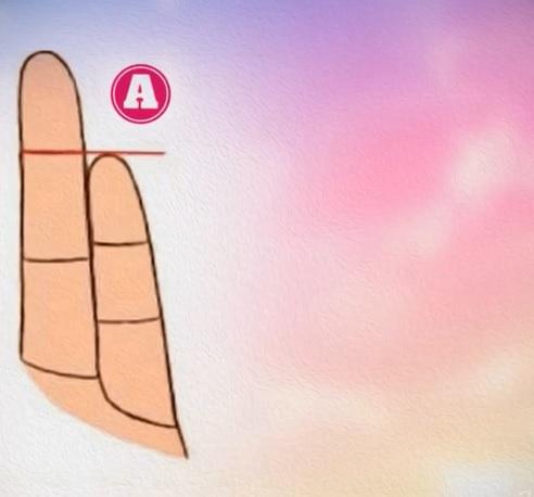 Personaliteti sipas Gjatësisë së Gishtit të Vogël të dorës