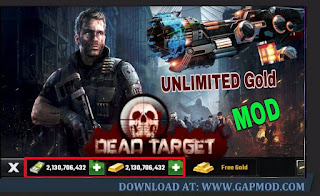 Download DEAD TARGET v4.32.2.2 MOD APK Unlimited Gold/Cash