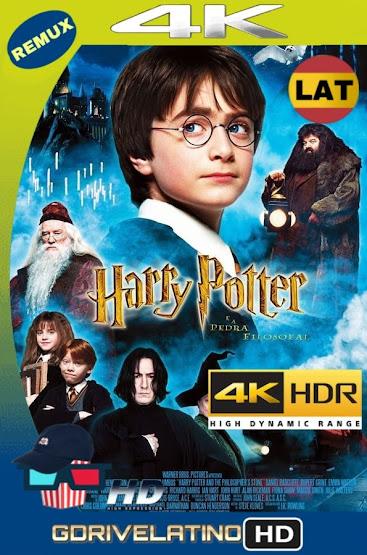 Harry Potter y La Piedra Filosofal (2001) REMUX 4K HDR Latino-Ingles MKV