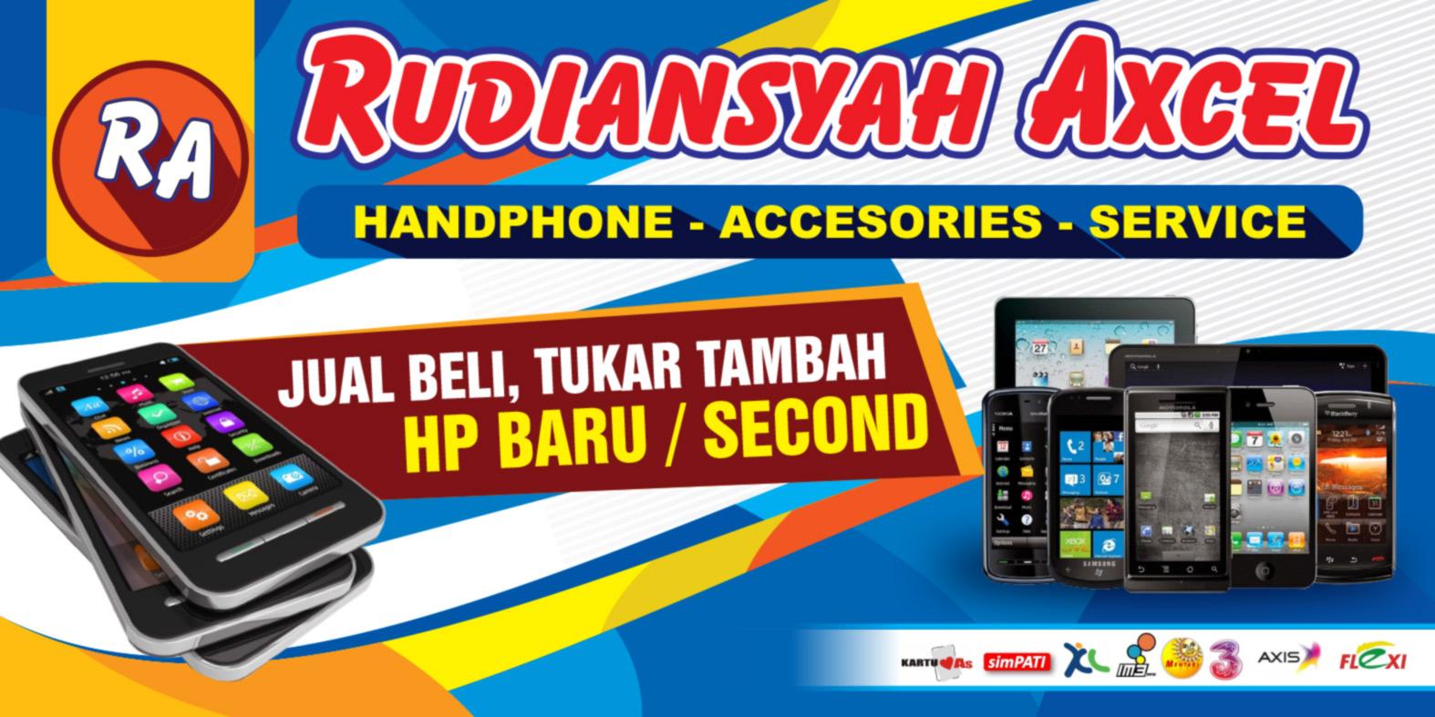 Contoh Desain Banner Counter Handphone Jasa Desain