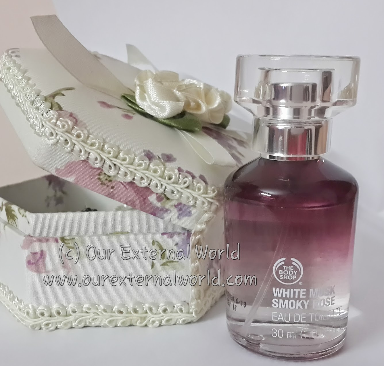 The Body Shop White Musk Smokey Rose EDT- Review
