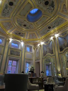 Uma das salas do Pestana Palácio do Freixo