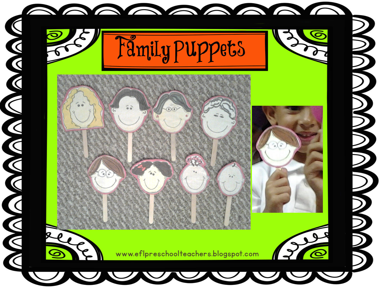 Esl Efl Preschool Teachers Family Theme For Ell