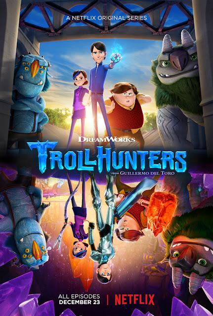 Trollhunters netflix recensione