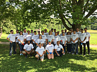 Americhem Employees at United Way of Summit County's Day of Action. | June 21, 2017