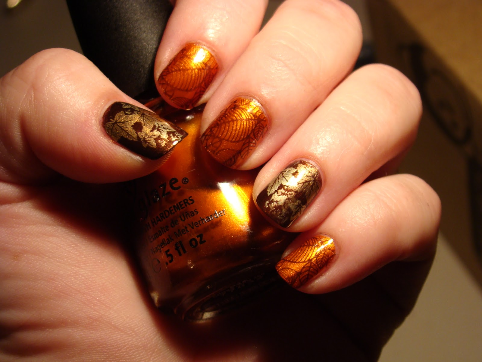 Gorgeous Autumn Inspired Nails - From Mane 'n Tail