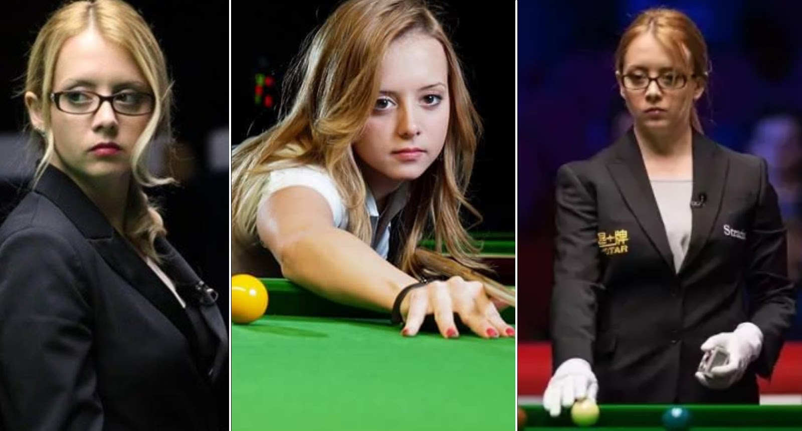 Most beautiful snooker referee Desislava Bozhilova