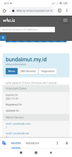 Domain custom my id