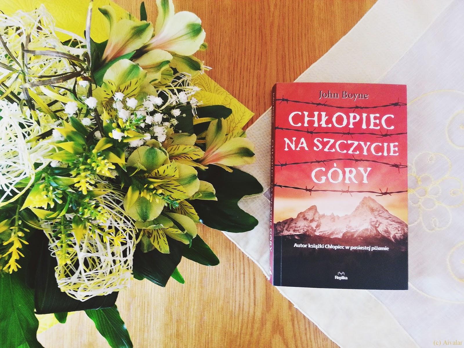Chłopiec na szczycie góry, John Boyne, książka, recenzja, Wydawnictwo Replika