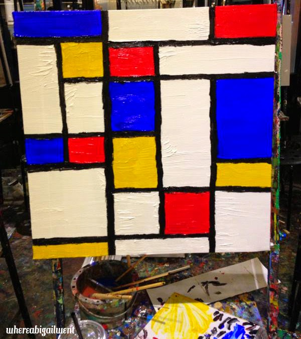 Mondrian Rolls In His Grave