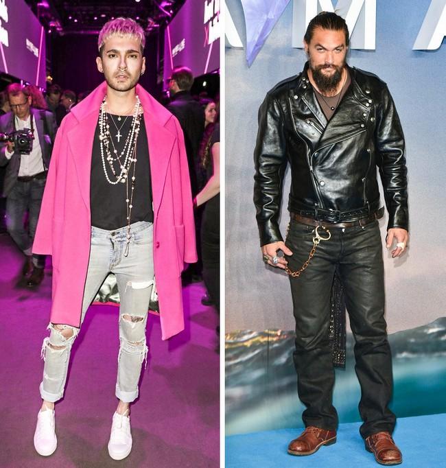 Bill Kaulitz e Jason Momoa: 1,92 m