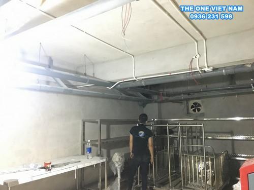 Cấp thoát nước cho xưởng giặt công nghiệp