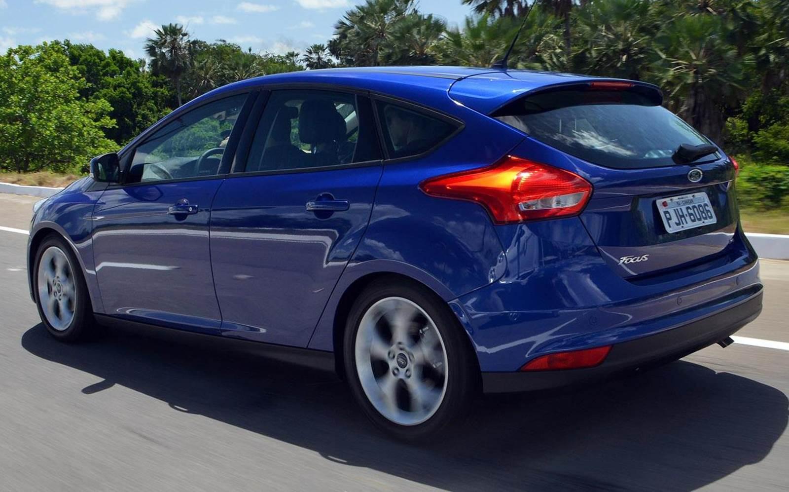 Ford Focus - segundo hatch médio mais vendido