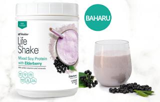 Elderberry Tea Mix & Elderberry Life Shake Mixed Soy Protein