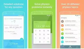 تحميل تطببق حل مسائل، معادلات، تمارين الفيزياء بسهولة، و شرح طريقة الحل، حلول فيزياء، اسئلة فيزيائية محلولة للاندرويد
