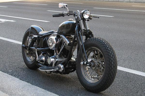 Harley Davidson Shovelhead By Reserve Custom Motorcycle Hell Kustom