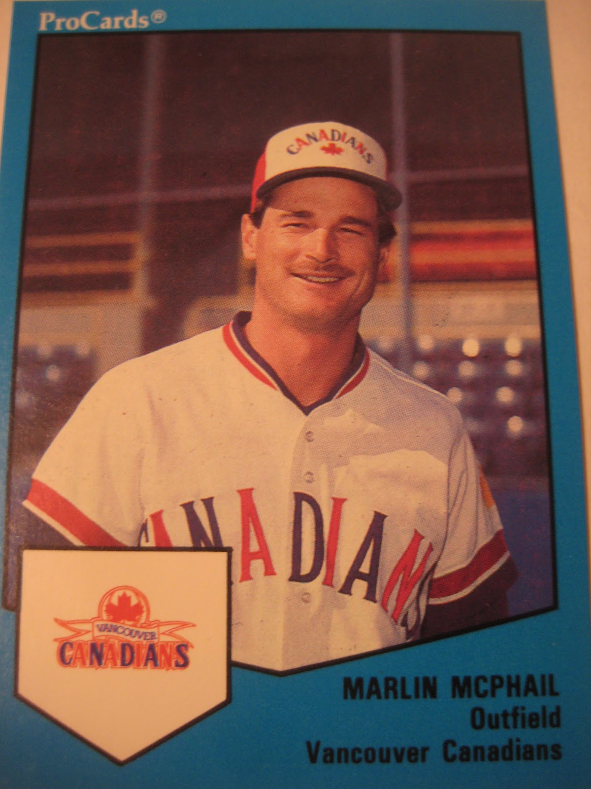 Baseball Cards Come To Life 1989 Vancouver Canadians