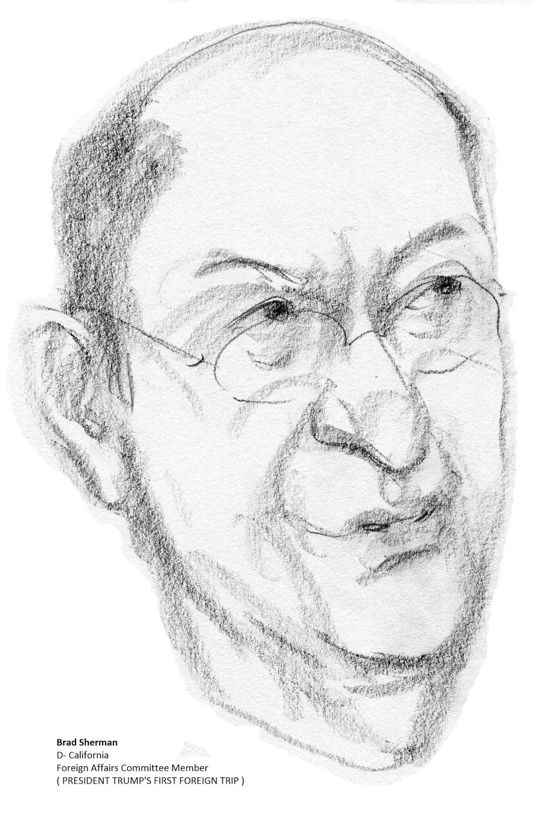 daily drawings: Brad Sherman