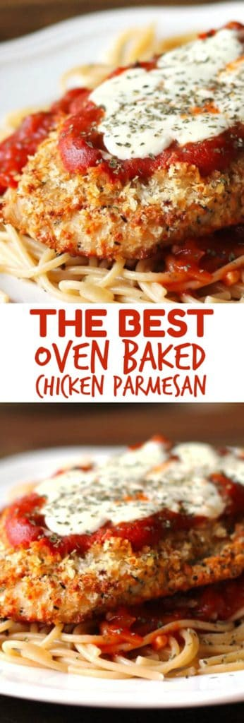 OVEN BAKED CHICKEN PARMESAN RECIPES