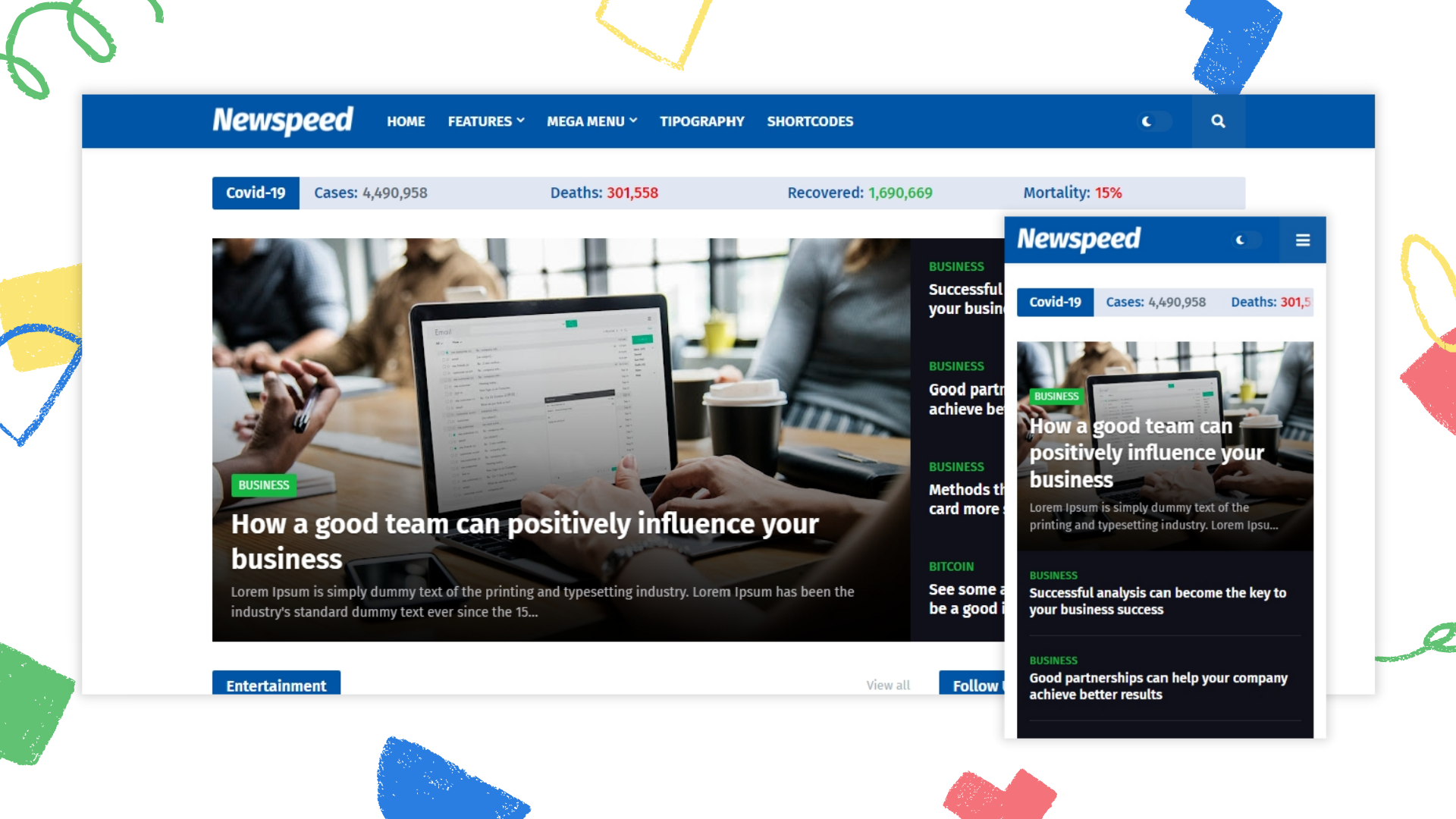 newspeed-premium-blogger-template