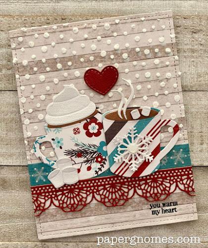 Hot Cocoa Christmas Winter Card