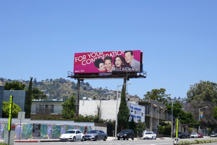Will Grace 2019 Emmy FYC billboard