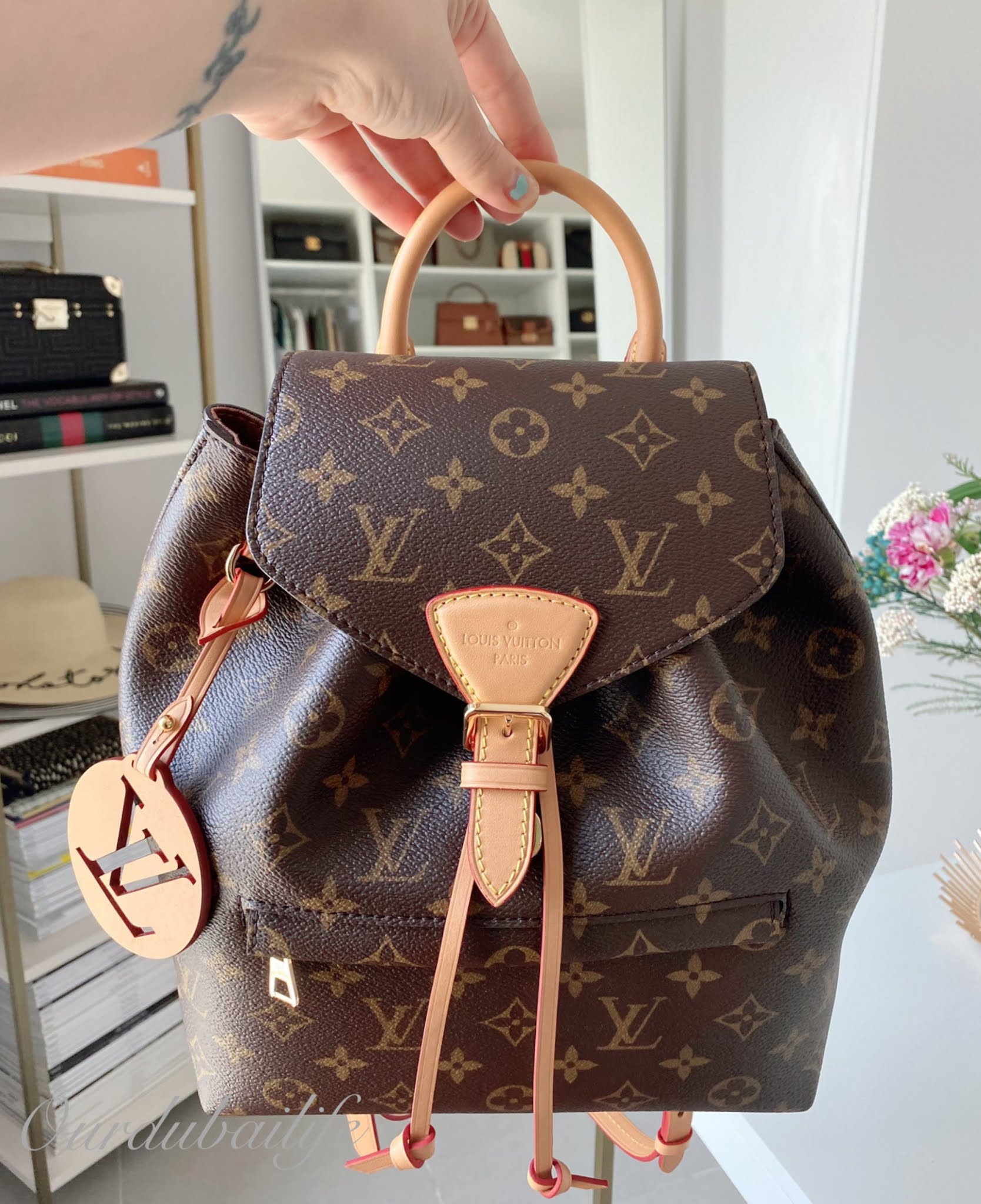LV Montsouris Natural PM Backpack New Release 2020