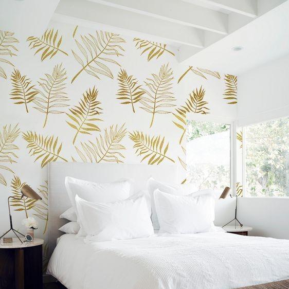 Wallpaper Kamar Tidur Romantis Mewah dan Elegan Terbaru